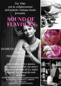 Sound of Flavours @ Tea Time di Patrizia Orlando